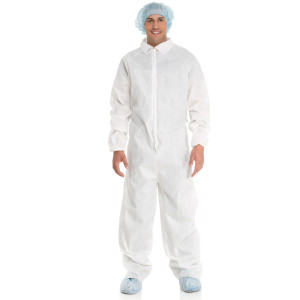Extra Protection Coverall with Elastic Cuffs