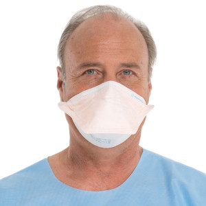 FLUIDSHIELD* N95 Particulate Filter Respirator and Surgical Mask