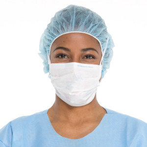 FLUIDSHIELD* Level 1 Fog-Free Surgical Mask with SO SOFT* Lining