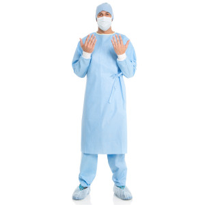 EVOLUTION* 4 Set-In-Sleeve Non-Reinforced Surgical Gown