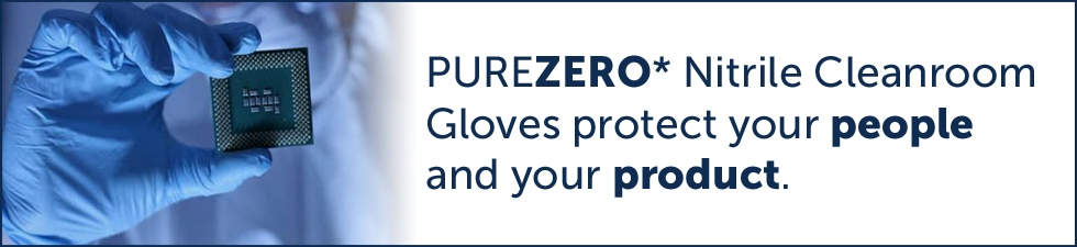 Controlled Environment Cleanroom Gloves